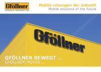 Gföllner – Image Broschüre (Deutsch & English)
